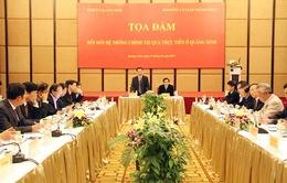 Tọa đàm đổi mới hệ thống chính trị qua thực tiễn ở Quảng Ninh