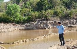 Bà Rịa - Vũng Tàu: Hàng nghìn mét khối cát bị khai thác trộm