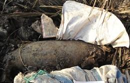 Phát hiện quả bom 500kg sót lại sau chiến tranh tại Tiền Giang