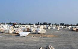 Làng đá Non Nước vẫn ô nhiễm sau di dời