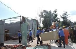 Vũng Tàu: Cưỡng chế 12 công trình xây dựng trái phép