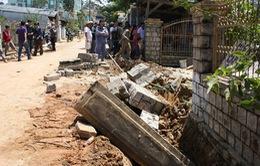 Lâm Đồng: Tường rào đổ ập, đè chết 2 thợ xây