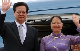 Thủ tướng Nguyễn Tấn Dũng lên đường thăm chính thức Thái Lan