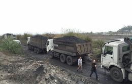 Khởi tố vụ vận chuyển hàng trăm tấn than trái phép