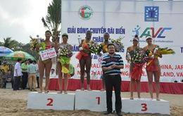 Vanuatu lên ngôi vô địch Giải bóng chuyền bãi biển nữ quốc tế, Tuần Châu - Hạ Long