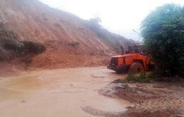 Mưa lũ tại Quảng Ninh: Vỡ tuyến ống cấp nước sạch và sạt lở tại Vân Đồn