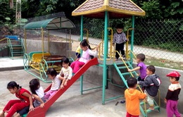 Hỗ trợ 15 địa phương phát triển hệ thống vui chơi, giải trí cho trẻ em