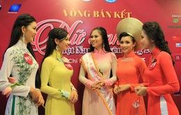 Nữ sinh viên Việt Nam duyên dáng 2015: Thí sinh Sài thành thanh lịch trong tà áo dài