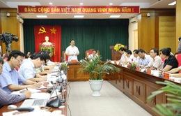 Phó Thủ tướng Hoàng Trung Hải làm việc tại Tuyên Quang