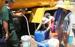 Quân khu 5 hỗ trợ người dân vùng khô hạn