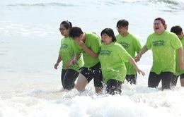 Bước nhảy ngàn cân 2015: Top 11 'khóc thét' vì chạy bộ dưới nước