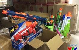 Tết Trung thu: Tịch thu hàng nghìn đồ chơi bạo lực tại quận Hoàn Kiếm