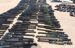 Bắt vụ vận chuyển 388 khẩu súng hơi bắn đạn chì