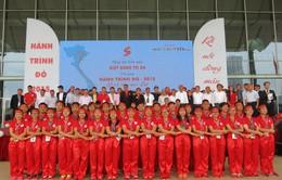 Rộn ràng ngày hội hiến máu Giọt hồng tri ân và Hội quân Hành trình đỏ 2015