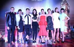 Dàn chân dài Next Top Model hội ngộ trong lễ ra mắt phim