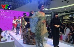 Mãn nhãn với màn trình diễn thời trang Sakura Collection tại AEON Mall Long Biên