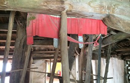 Hà Nội: Chùa Phúc Lâm 500 tuổi đứng trước nguy cơ đổ sập