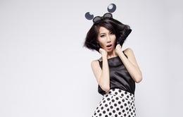 Á quân Vietnam's Next Top Model 2014 lạ lẫm với hình ảnh chuột Mickey