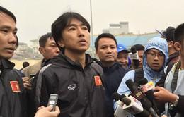 """U23 Việt Nam thắng, HLV Miura """"thương"""" hàng phòng ngự"""