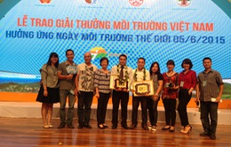 Đài THVN giành 2 giải thưởng Môi trường Việt Nam 2015
