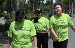 Bước nhảy ngàn cân 2015: Thí sinh tái mặt chạy đường trường