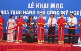 Hơn 200 doanh nghiệp tham gia Hội chợ hàng thủ công mỹ nghệ Hà Nội 2015