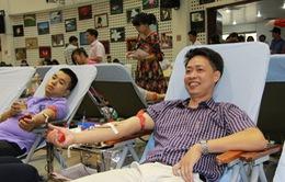 """Nghệ An: Hơn 600 y, bác sĩ tham gia ngày hội hiến máu """"Giọt hồng Blouse trắng"""""""