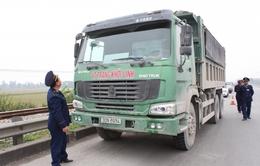 Giảm xe quá tải ở Hà Nội: Liệu có lâu dài?