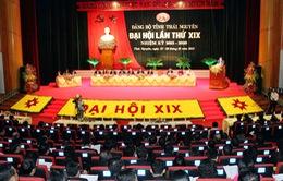 Bế mạc Đại hội Đảng bộ tỉnh Thái Nguyên và Hải Dương