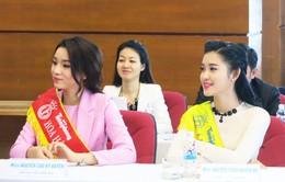 Hoa hậu Kỳ Duyên, Á hậu Huyền My hào hứng tham gia hiến máu
