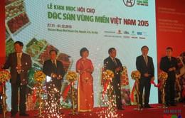 Hơn 40 tỉnh tham gia Hội chợ Đặc sản vùng miền 2015