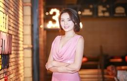 Hoa hậu Kỳ Duyên duyên dáng với đầm hồng