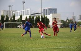ĐT nữ  Myanmar thắng trận mở màn U14 châu Á 2015