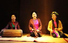 Đêm chèo cổ và triển lãm tranh giấy dó tại Hà Nội