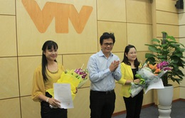 Tổng Giám đốc Đài THVN trao Quyết định bổ nhiệm 02 Tổng biên tập