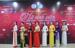 Nữ sinh viên Việt Nam duyên dáng 2015 khoe vẻ e ấp tại Đà Nẵng