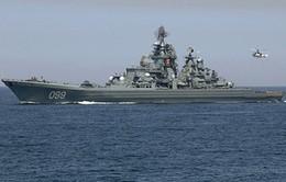 Tàu chiến của Hạm đội Biển Bắc đã đến quần đảo Novosiberi