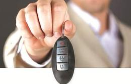 Xe hơi và chiếc chìa khóa thông minh