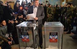 Lãnh đạo Ukraine coi bầu cử ở miền Đông là vi phạm lệnh ngừng bắn