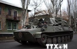Ukraine: Nhất trí về thời gian biểu rút binh sĩ tại Donbass