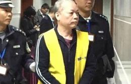 Nhận hối lội 65 triệu USD, quan chức Trung Quốc lĩnh án tử hình