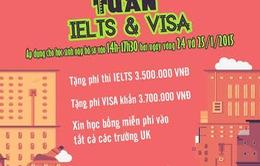 ISCUKEAS tặng phí thi IELTS, phí visa khẩn cho du học sinh