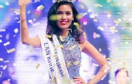 Lan Khuê đăng quang Hoa khôi Áo dài Việt Nam 2014