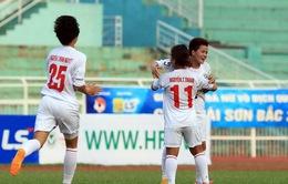 Vòng 4 giải VĐQG nữ - cúp Thái Sơn Bắc 2015: Hà Nội I khẳng định sức mạnh