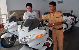 """CSGT Đà Nẵng được trang bị 4 mô tô """"khủng"""" sản xuất tại Mỹ"""