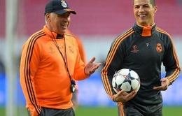Ancelotti thừa nhận Ronaldo đang sa sút phong độ