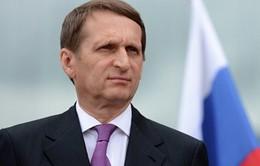 Chủ tịch Hạ viện Nga Sergei Naryshkin thăm chính thức Cuba