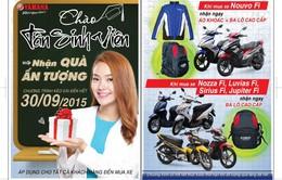 Yamaha Motor Việt Nam khuyến mãi lớn mừng tân sinh viên