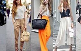 Thay đổi phong cách với bảy mẫu quần dài thời thượng nhất