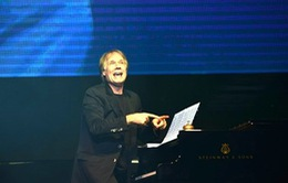 Dư âm đầy mê đắm đêm nhạc của danh cầm Richard Clayderman